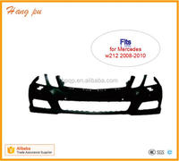 Aftermarket FRONT BUMPER PRIMED A2128801540 W/ HEADLAMP WASHER for E350 E550 SEDAN 2008 2009 2010