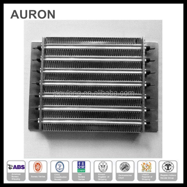 AURON/HEATWELL stainless steel 304l electric AC heating element /ss 304L AC finned heating board/ss 304 heating fin panel tubes