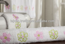 Embroidered Cotton Bath Towels Sets