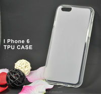 back matt and shiny frame new TPU case for iphone 6
