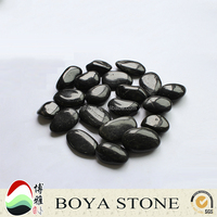 China Wholesale Websites black polished river rock