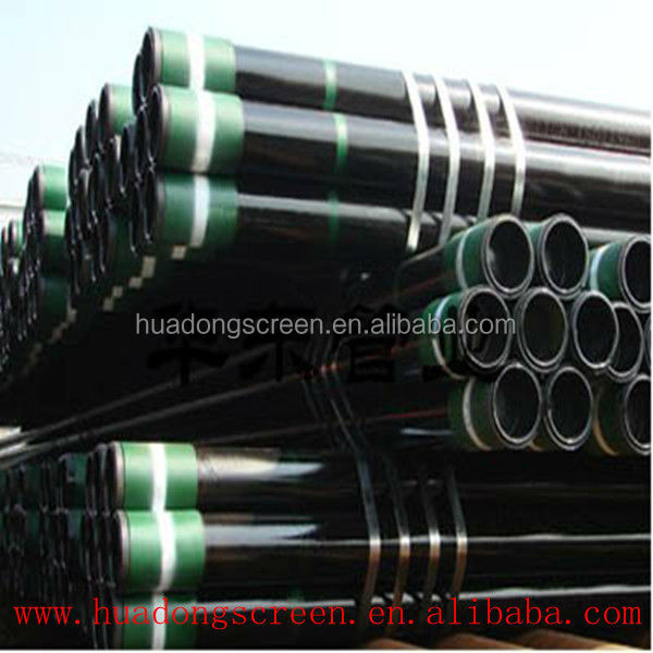 2016 New China water well drill pipe manufactures/N80 L80 j55 casing pipe