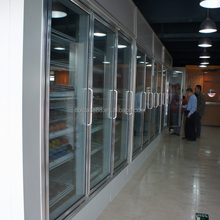 Glass Door Customized Cold Storage Display Cold Room