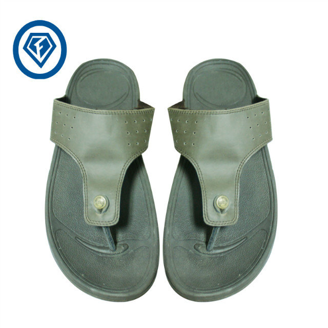 2016 High Quality Eva Injection Pu Upper Mens Felt Slippers