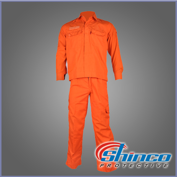 Wholesale european used factory fireproof work clothes