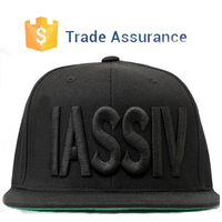 OEM Custom 3D Embroidery 6 Panel Snapback Hat Custom Design Men Snapback Cap and Hat With Embroidery Logo