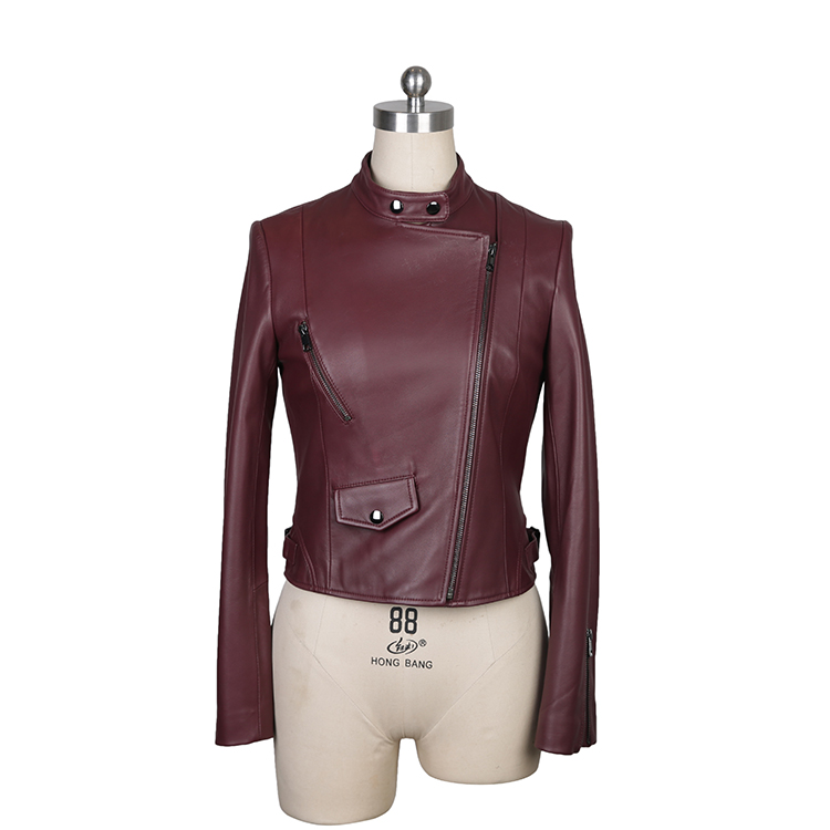 Low Price Guaranteed Quality Winter Jacket Genuine Viscose Leather Jacket