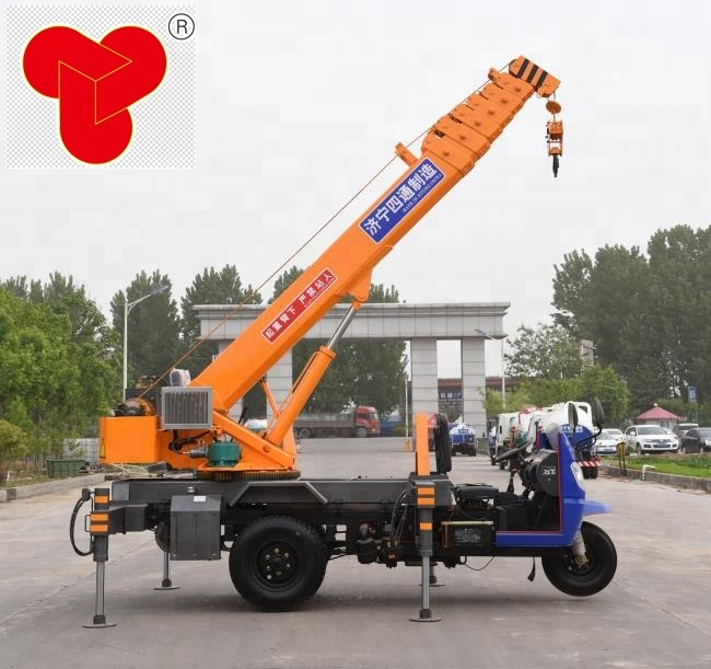 Knuckle boom crane 3 ton pickup truck mounted crane for sale