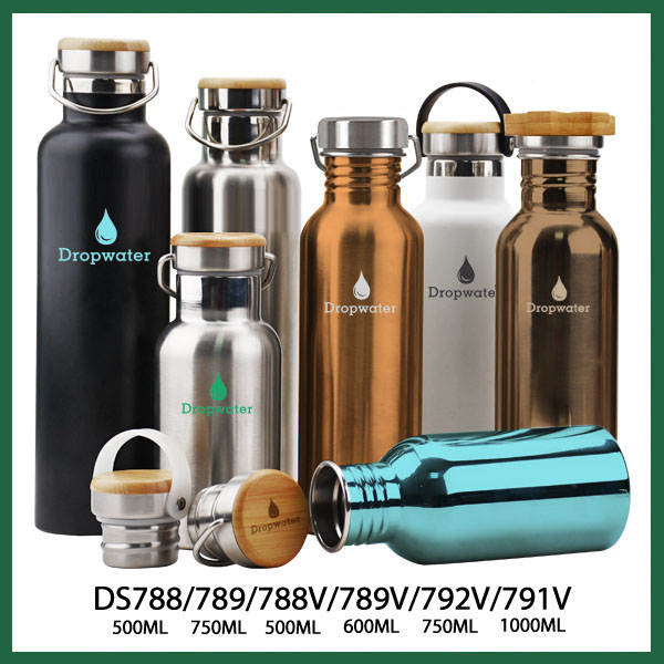 Eco friendly 1 liter stainless steel vacuum flask stock, thermos flask pots