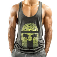 Custom Brand Logo Fitness Tank Top