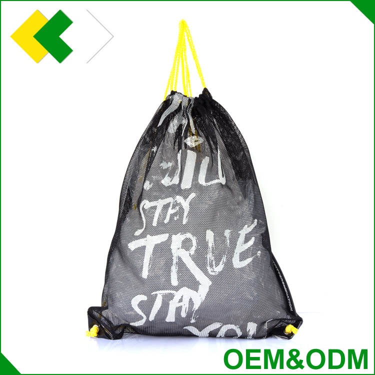 OEM&ODM customized promotional printing nylon polyester shopping bag reusable tote portable drawstring bag polyester