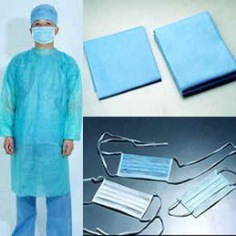 100% Polypropylene manufacturer ss sms nonwoven hospital gown fabric