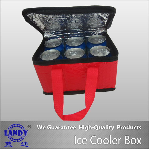 Thermal insulation aluminum foil material ice cooler bottle bag