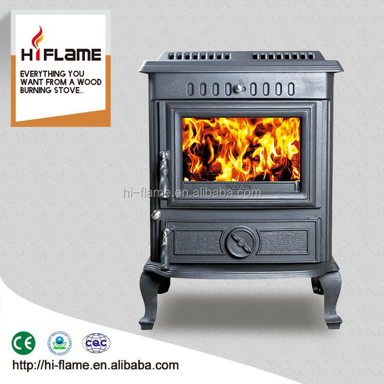 Indoor freestanding cast iron wood burning stove with double doors wood burner for sale HF446