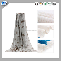 Europe edition autumn winter pull wool and the thick scarf women's two-faced artificial cotton warm air-conditioner shawl