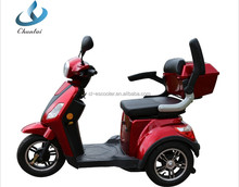 24V 500W 3 wheel electric scooter for old people e scooter with EEC approve