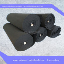 manufacturing conductive activated carbon fiber cloth