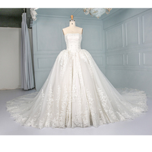 Wholesale good quality inexpensive price long tail girls bulk wedding dresses