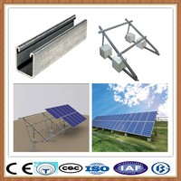 Solar photovoltaic stents/ PV panel mounting system