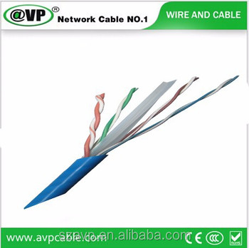 HOT SELL UTP  CCA Test 1000ft 305m PVC CMP LSZH Cat6 Network Cable