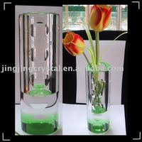 New Fashion Crystal Flower Vase Craft