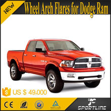 Black ABS RAM Car Mud Fender For Dodge Ram 1500 SL Crew Cab Pickup 2D 4D POCKET RIVET Style 09-15