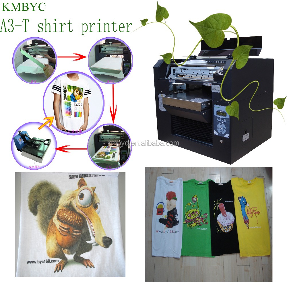 a3 size good quality printing machine t-shirt,digital textile printer