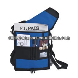 2014 fashion 600d polyester crossbody school satchel bag