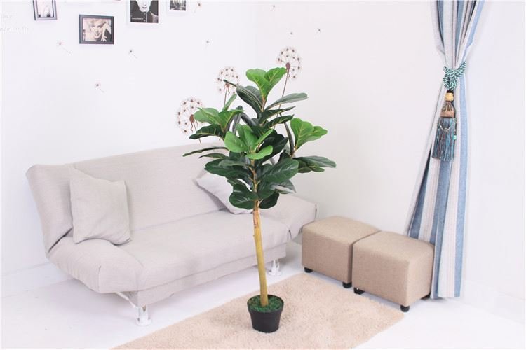 HOT sale good quality lively christmas artificial ficus tree decor