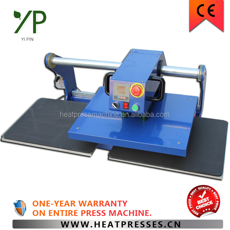 Two workable heat transfer label printing machine make t for Heat transfer labels for t shirts