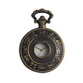 new custom design japan movt quartz pocket watch with chain