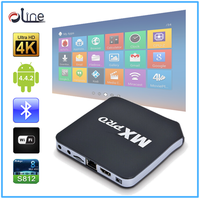 High quality Android 4.4 internet tv decoder MXpro android tv box