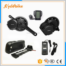 48V 1000W BBS03 Bafang mid drive motor electric bicycle kit with battery