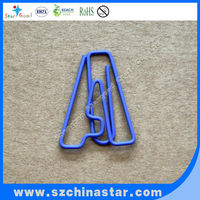 Letter A Shaped Paper Clip Office