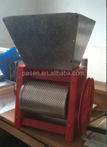 home use handful cocoa coffee bean pulping machine