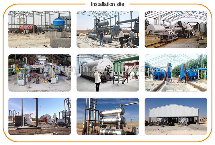 Discount!!!!! Automatic Waste Plastic Pyrolysis Machine to Fuel Diesel Oil Distillation Plant from HuaYin Manufacturer