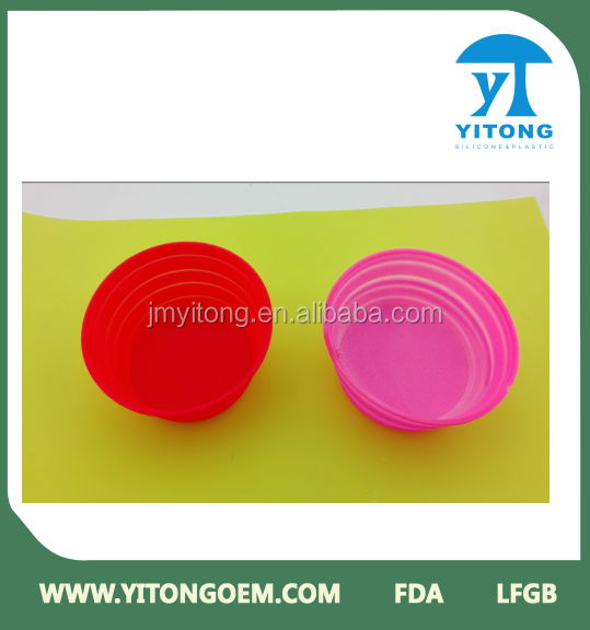 advanced color changeable silicone dog bowl