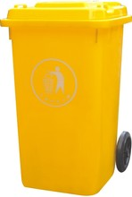 Rear load trash can for trash car 240L/easy to clearn / environment protector manager