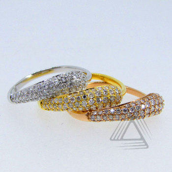 Fashion Rings Jewelry, Diamond Silver Rings, Designer Diamond Ring Jewelry
