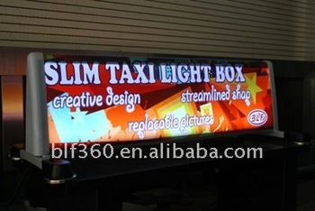 A Frame Slim Taxi Top Light