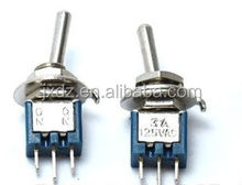 SMTS-102 small toggle switch toggle switch (single) 3A 125V