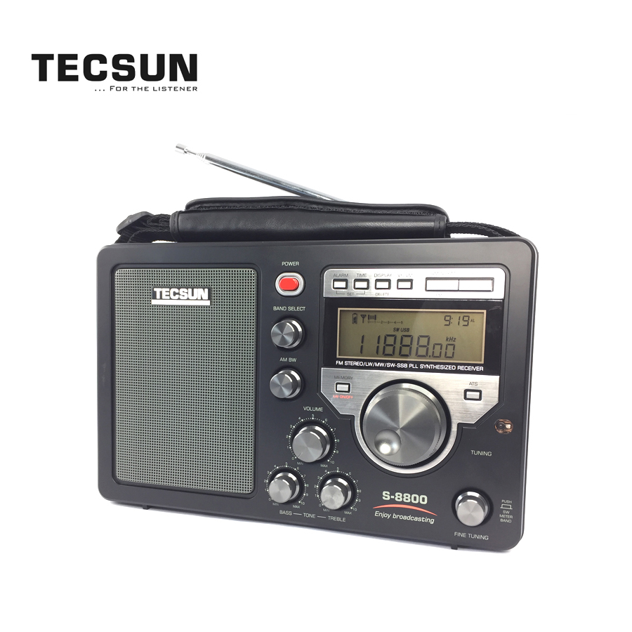 TECSUN S-8800 Multi Conversion AM (MW )/ FM / LW / SW / SSB Radio Receiver