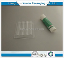customized wholesale cheap glue sticker blister packaging box