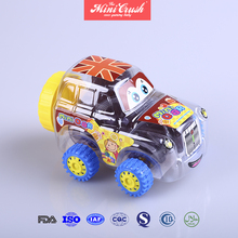 Oem manufacturer various flavors cup fruit jelly and pudding in toy car