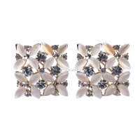 Beautiful Korean Stud Earrings Graciously Fine Jewelry Earrings