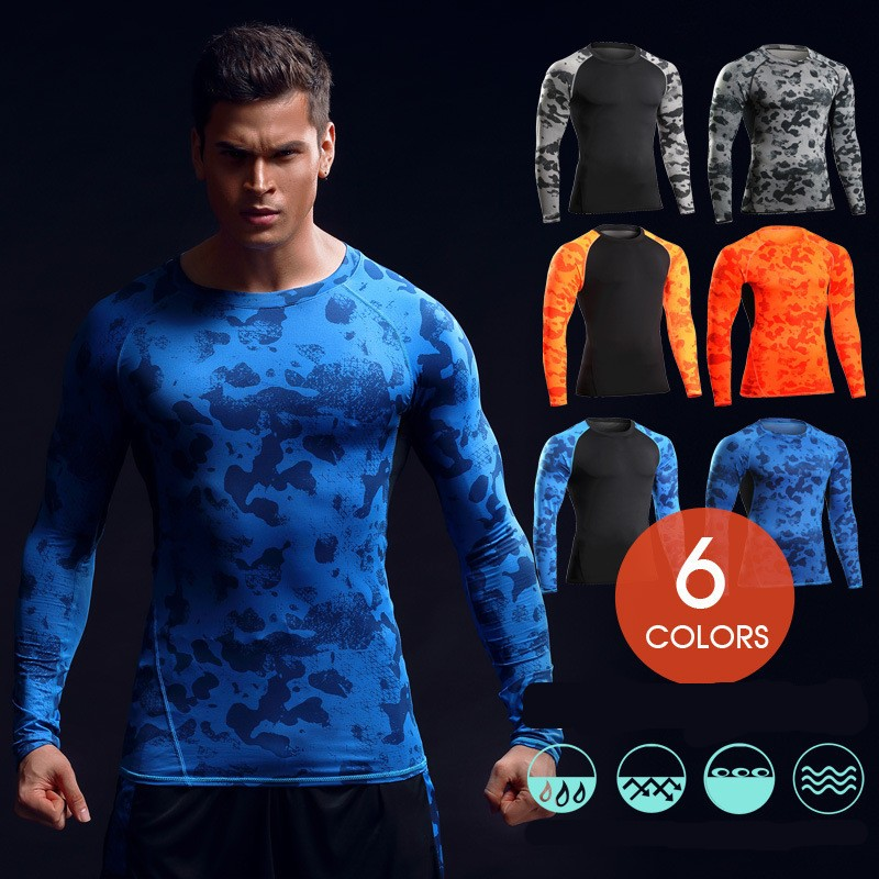 Men's Wholesale Compression Customized Sports T Shirt 17