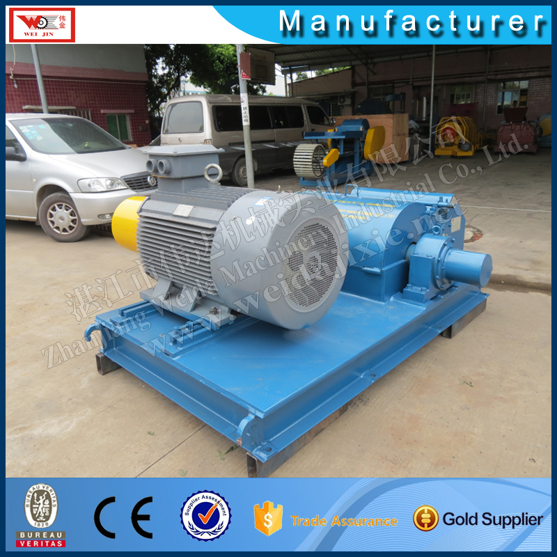 non manual farming rubber shredder machine with high performance /rubber shredder
