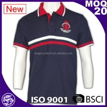 China manufacture unique design fashionable bulk printing polo shirts