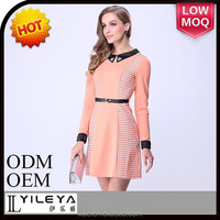 ladies casual dress in China, office formal dresses for middle aged women
