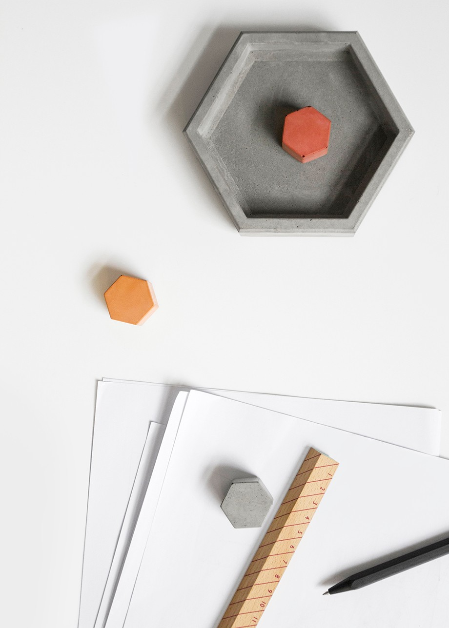 TIE Magnet Colour magnetic cement product design by BENTU
